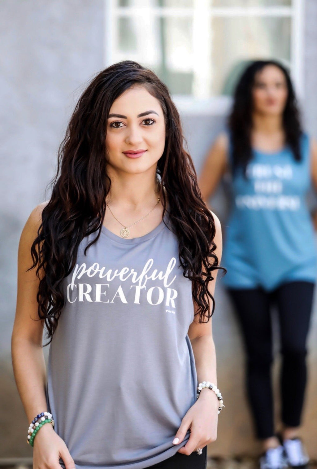 Powerful Creator Tank - everlur spiritual clothing