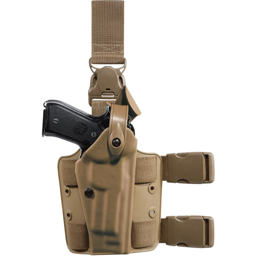 Model 6005 SLS Tactical Holster with Quick-Release Leg Strap - Safariland