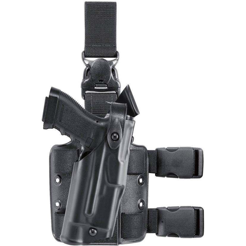 Model 6305 ALS®/SLS Tactical Holster w/ Quick-Release Leg Strap - Safariland