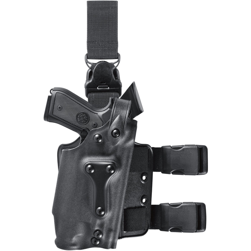 Model 6035 SLS Military Tactical holster for Gun Mounted Light w/ Quick Release Leg Strap - Safariland