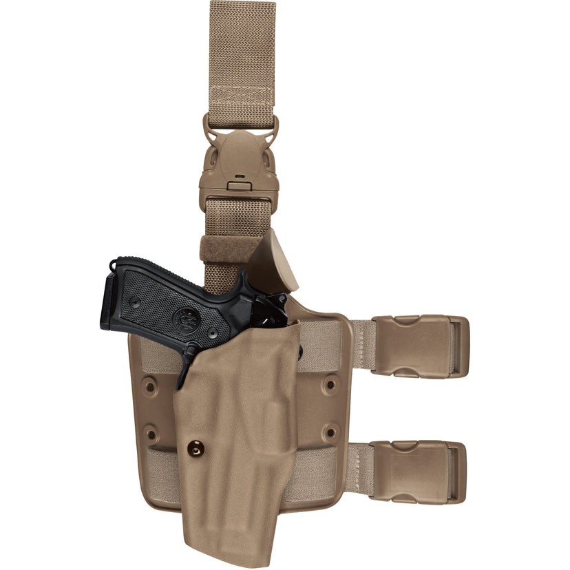 Model 6385 ALS® OMV Tactical Holster w/ Quick Release Leg Strap