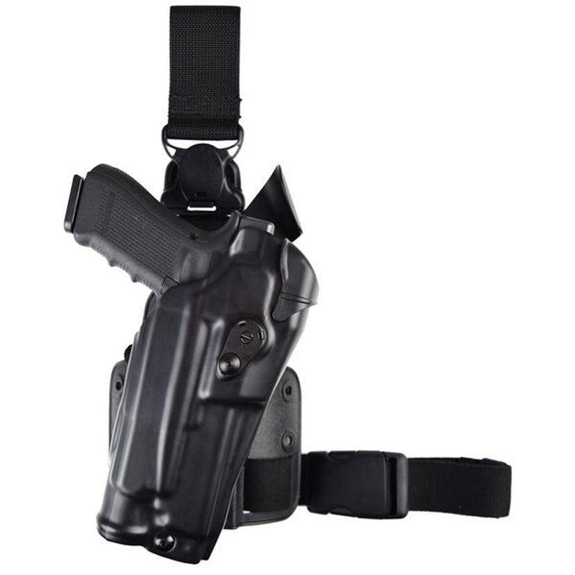 Model 6355RDS-SP10 ALS® Single Strap Tactical Holster with Quick-Release