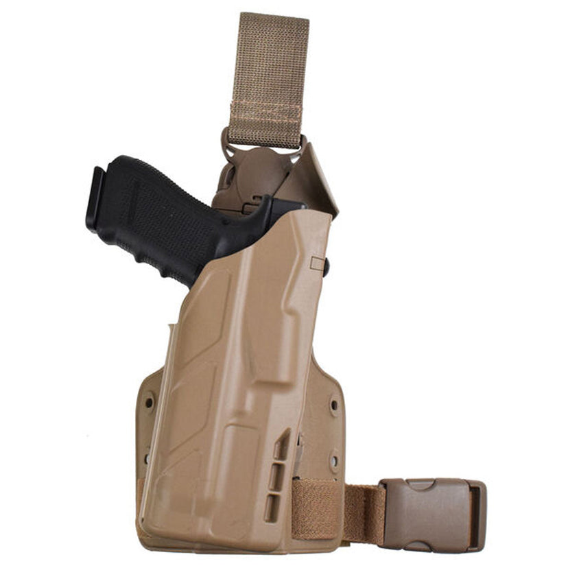 Model 7355-SP10 7TS™ ALS® Single Strap Tactical Holster w/ Quick Release
