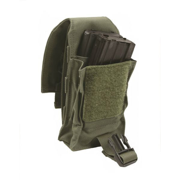 LT4 - M4 Magazine Pouch, Double, Stacked - Safariland