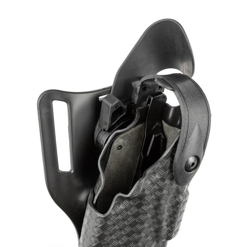 6360 ALS®/SLS Mid-Ride, Level IV Retention™ Duty Holster with Sentry - Safariland