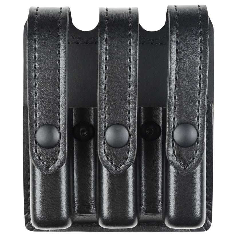 777 - Slimline Triple Magazine Pouch - Leather-Look Synthetic - Safariland