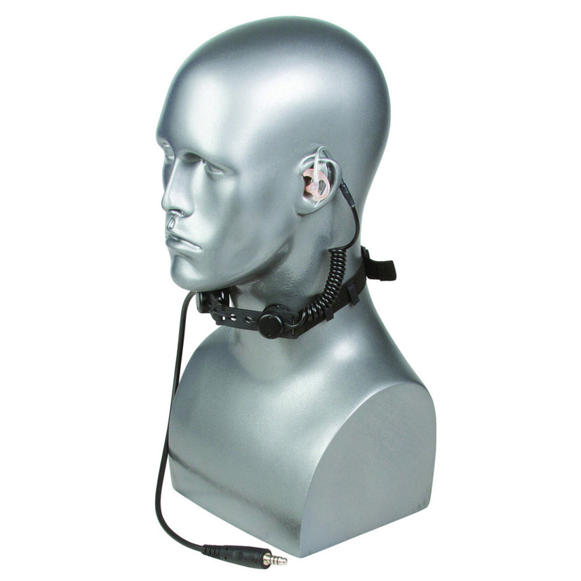 Tactical Throat Microphone Headset Only