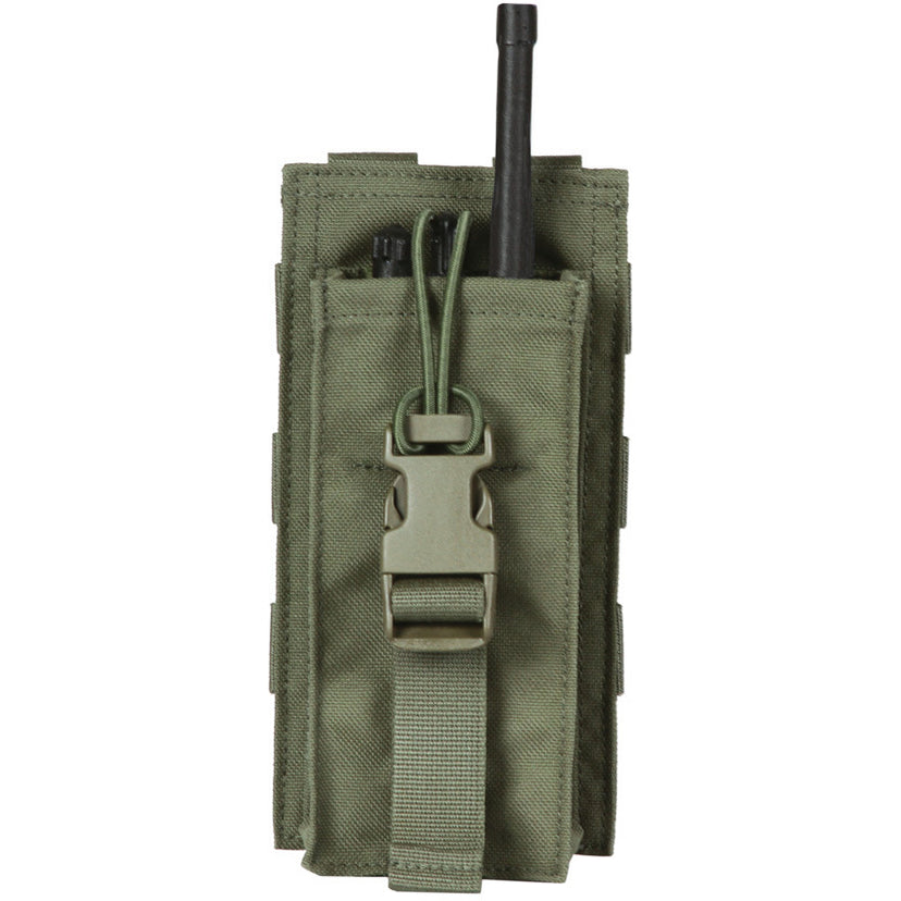 TP21A Universal Radio Pouch with Bungee Closure