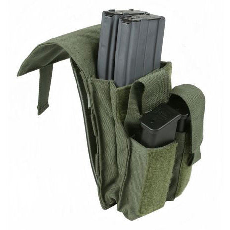 TP7 - M4/Side Arm Magazine Pouch, Dual/Double