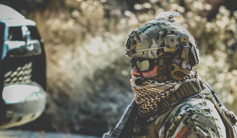 Liberator® IV Advanced Single Comm Headset and PTT System - Safariland