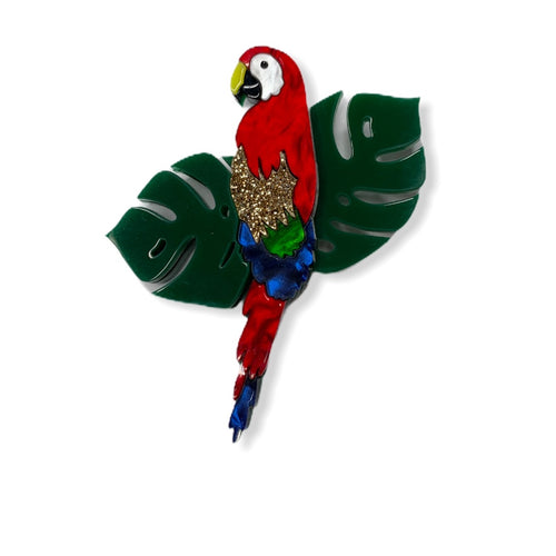 Polly Parrot Brooch