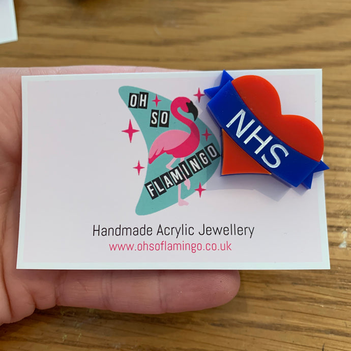 NHS support pin