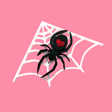 Load image into Gallery viewer, Spider Love Brooch