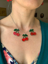 Load image into Gallery viewer, Cherries Necklace