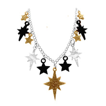 Load image into Gallery viewer, Golden Starburst Necklace