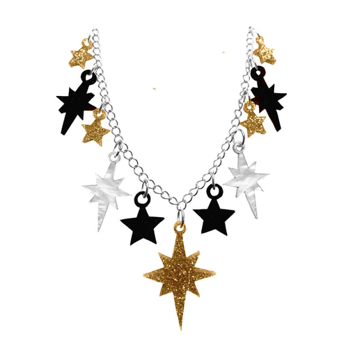 Golden Starburst Necklace