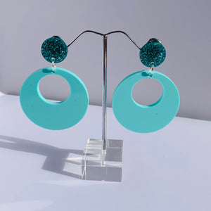 Bit of sparkle hoops