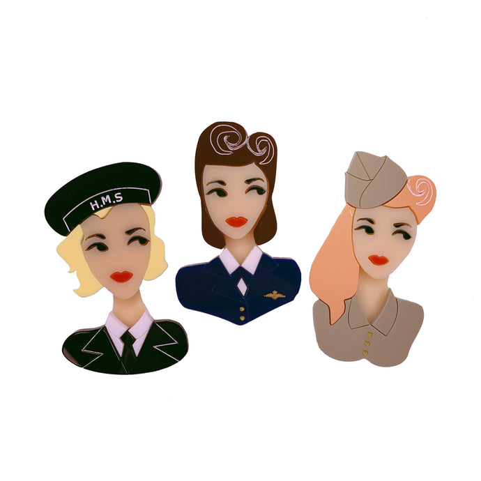 D-Day Darlings Set of four