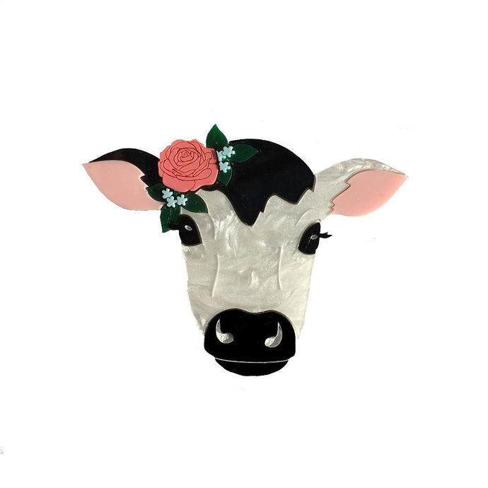 Rosie the Calf Brooch