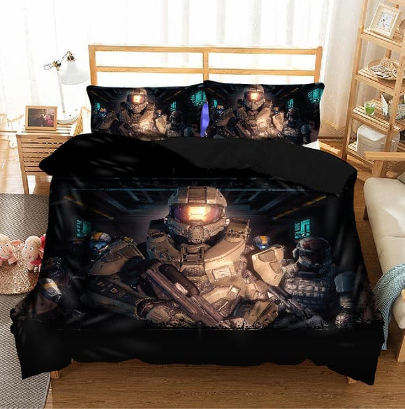 Halo Masterchief Duvet Cover & Pillowcase Set