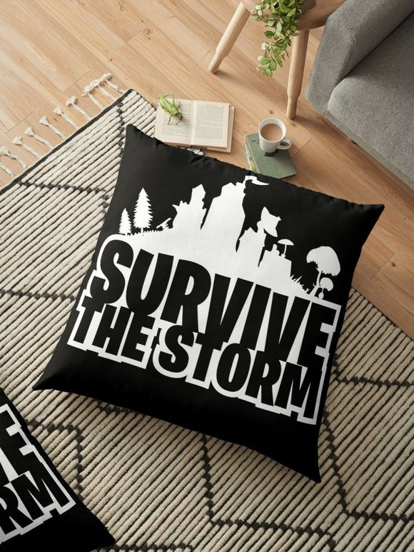Fortnite Gamers Survive the Storm Pillowcases - Custom Print