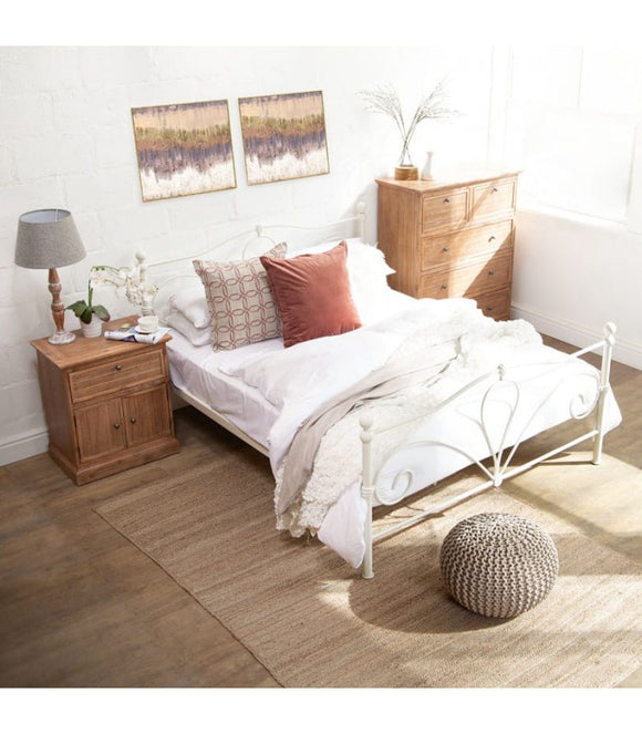 Mabel Metal Bed - Double