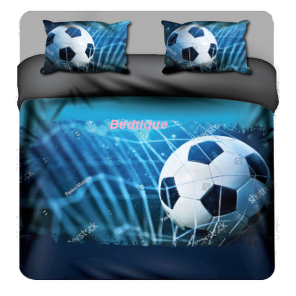 Soccer Ball  Duvet & Pillowcase set  - Custom Print