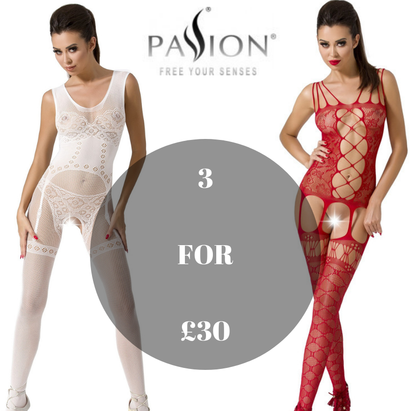 3 for £30 Passion bodystocking offer