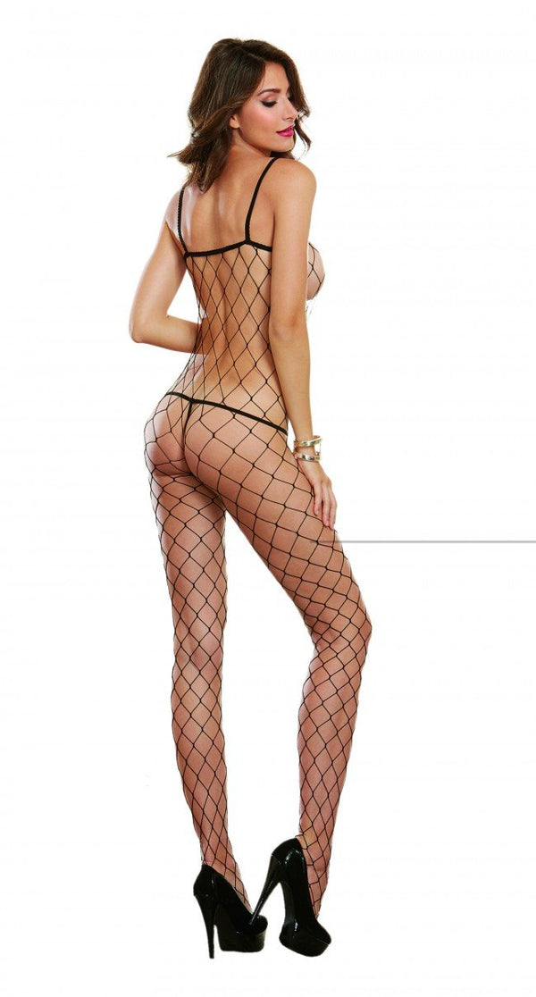 Geneva Fishnet Bodystocking