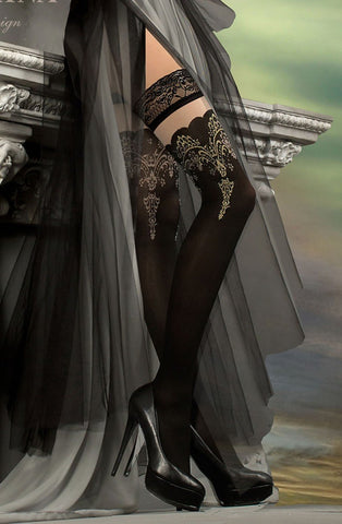 Ballerina 220 Black Hold Ups