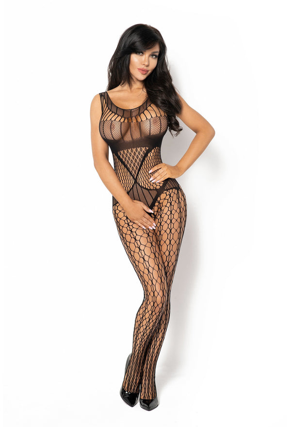 Beauty Night Juliya Crotchless Black Bodystocking