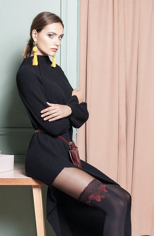 Cheryl Patterned Fashion Tights