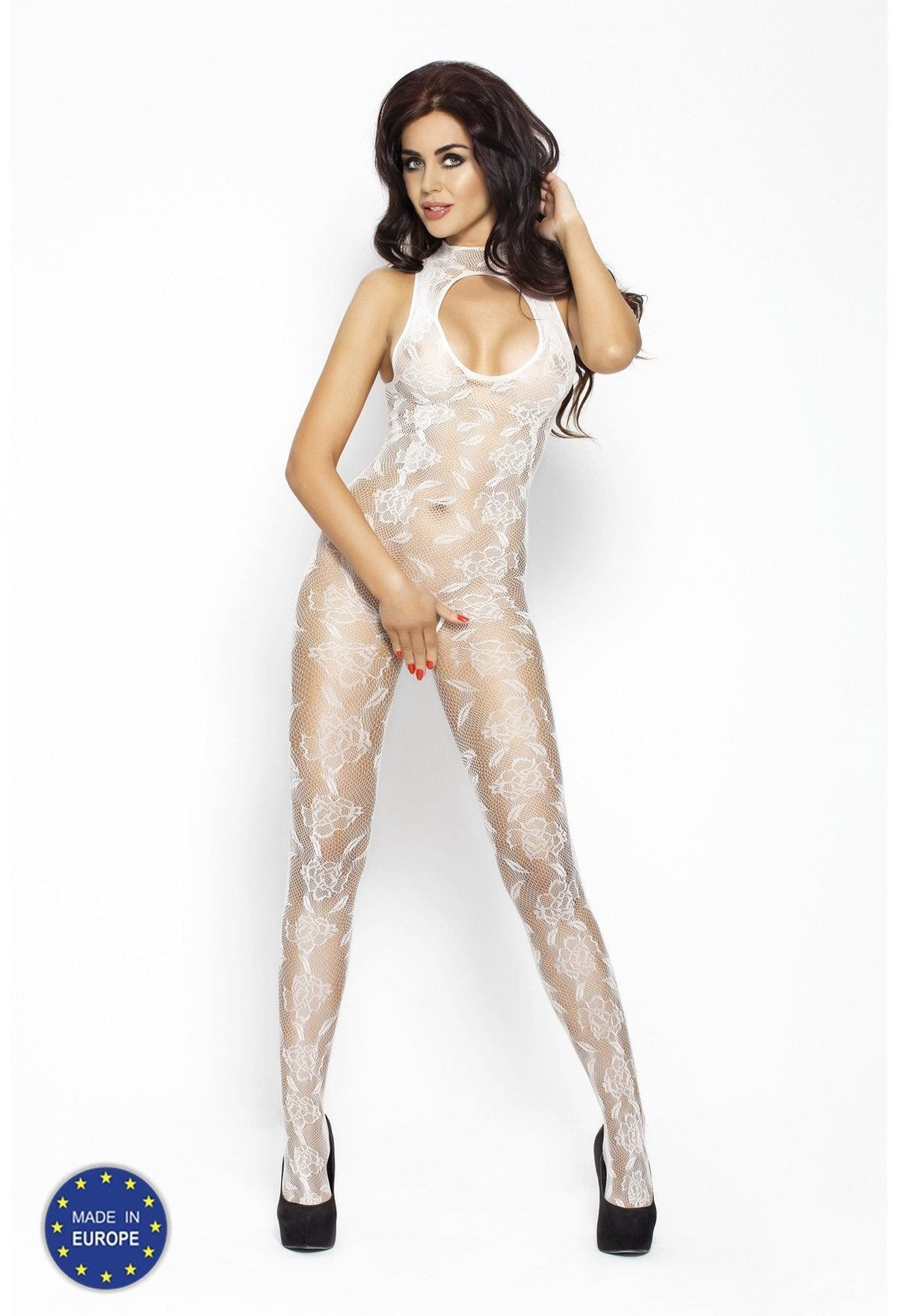 Passion Bodystocking BS009 White