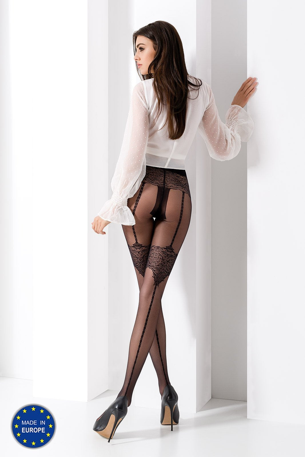 Passion TI031 Black Tights