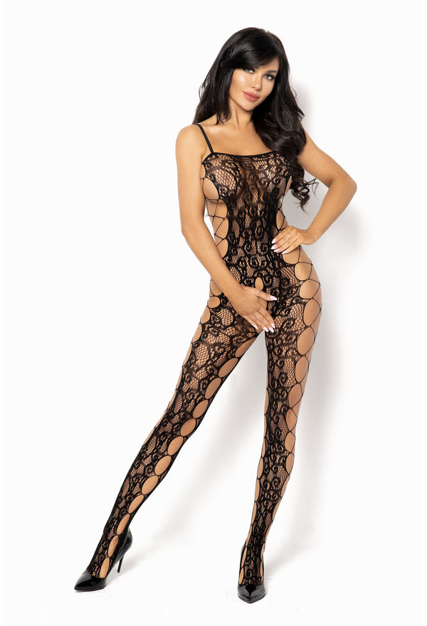 Portia Black Bodystocking
