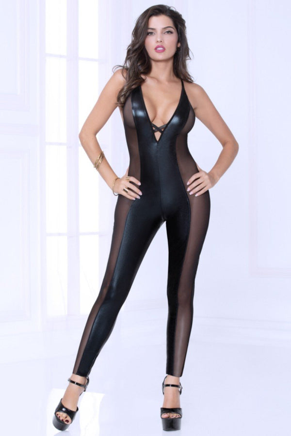 Seven Til Midnight Wet 'n Wild Catsuit