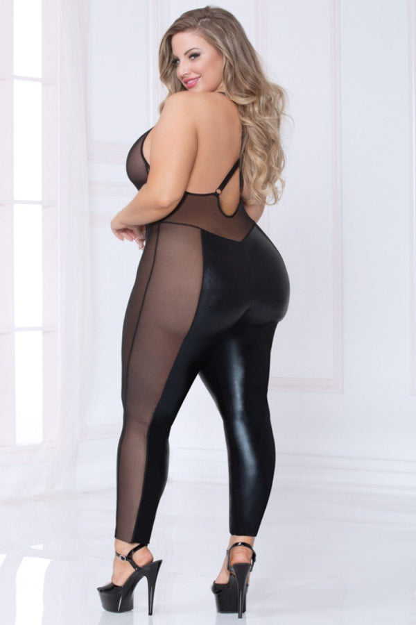 Seven Til Midnight Wet 'n Wild Plus Size Catsuit