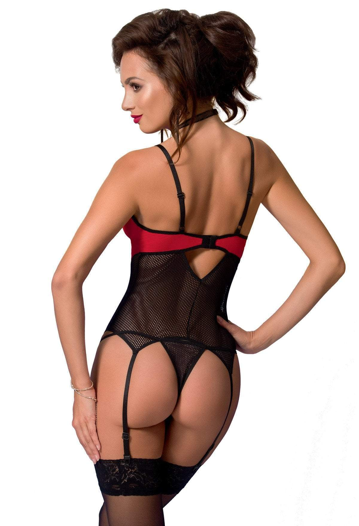 Avanua Coline Red Corset Back