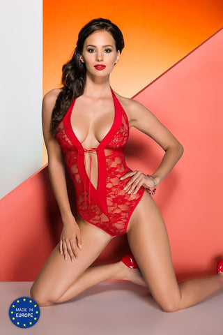 Avanua Rayen Red Teddy - FY Intimates
