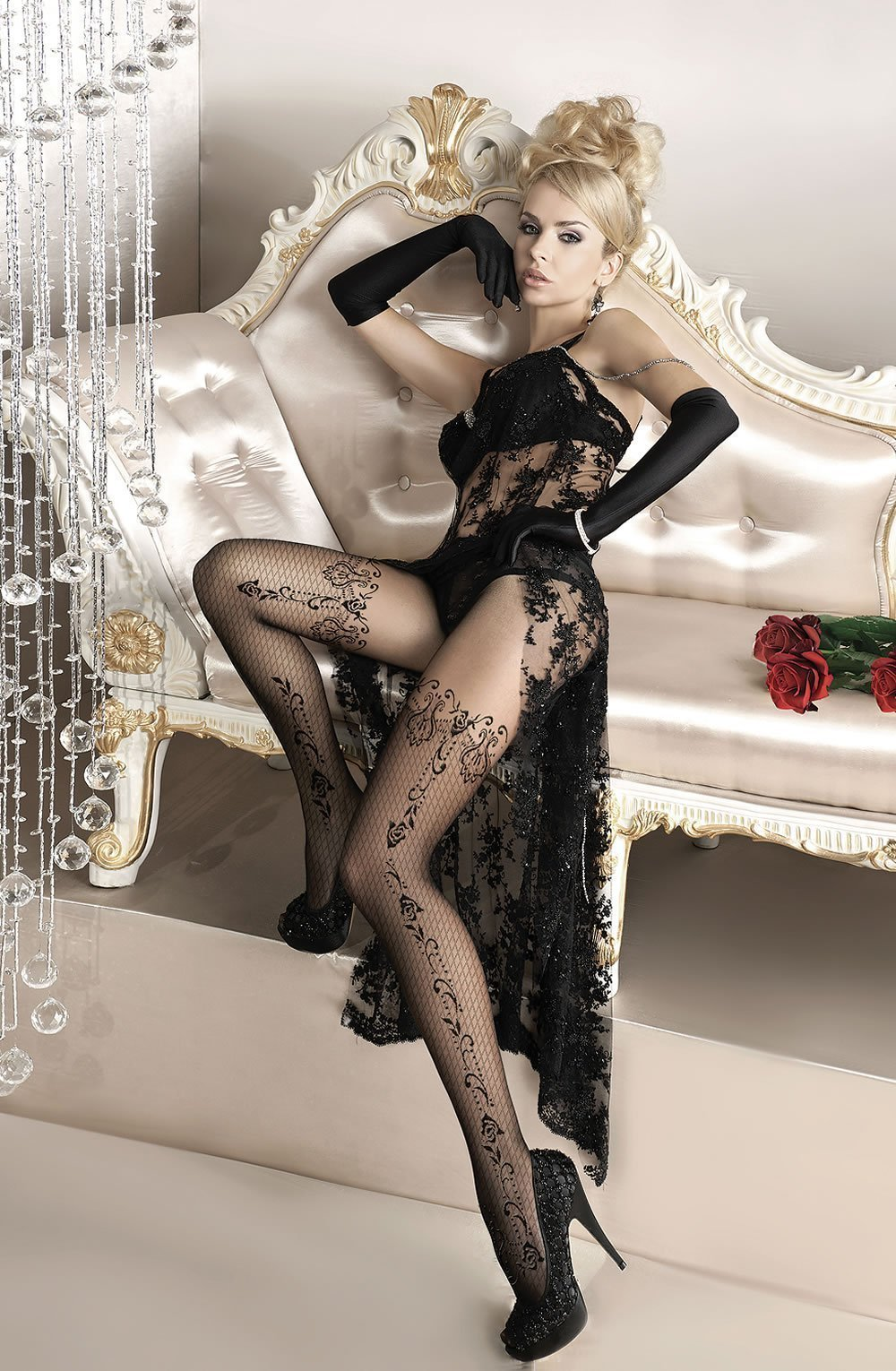 Ballerina Tights Ballerina 135 Black Tights