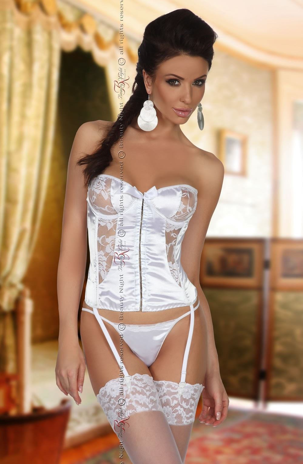 beauty night corset UK 8-12 / White Beauty Night Patricia White Corset