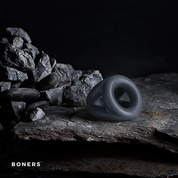 boners cock ring Liquid Silicone Triple Cockring