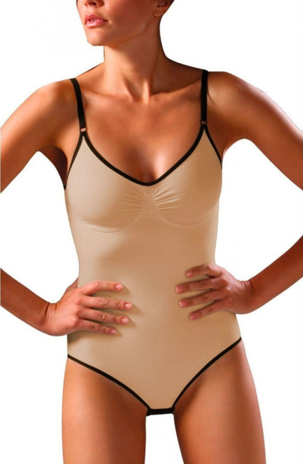 control body Control Body Bodysuit UK 10-12 / Skin Control Body Cotton Bodysuit  - Firm Support Skin
