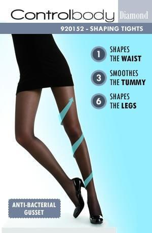 Control Body 70 Denier Micro Compression Tights - Divas Closet