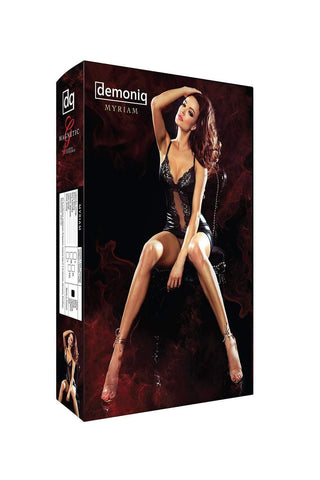 demoniq Demoniq Chemise Mayriam Mini Dress