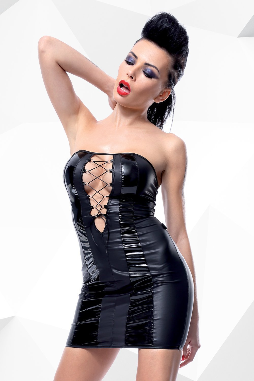 demoniq Dress UK 8 / Black Irma by Demoniq Hard Candy Collection