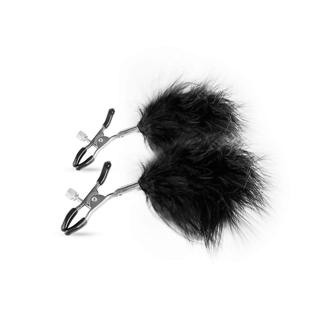Easy Toys Fetish Collection nipple clamp Adjustable Nipple Clamps With Feathers
