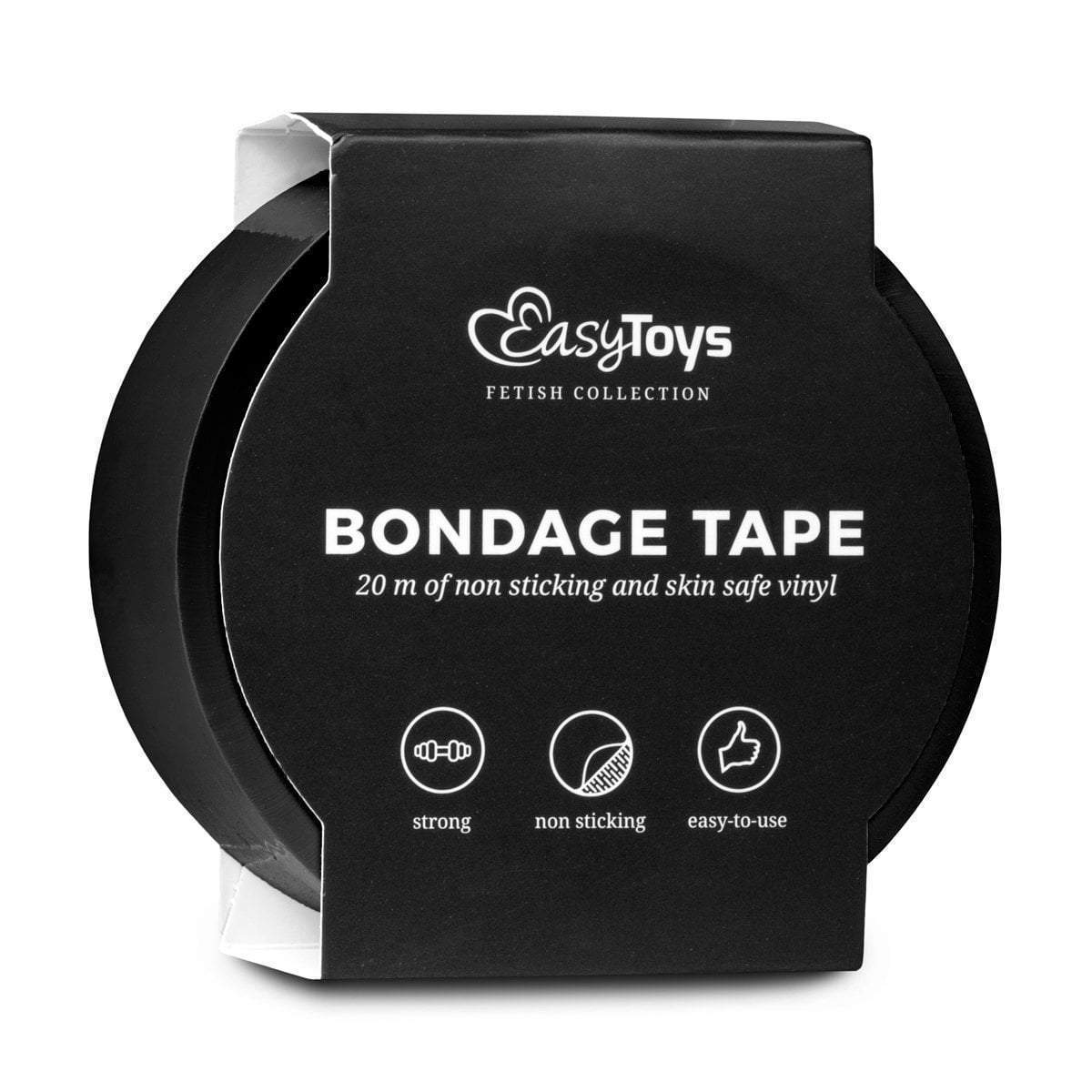 Easy Toys Fetish Collection tape Black Bondage Tape 20m
