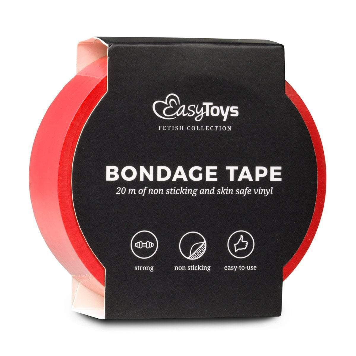 Easy Toys Fetish Collection tape Red Bondage Tape 20m