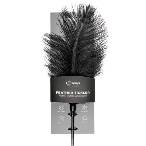 Easy Toys Fetish Collection Tickler Black Feather Tickler